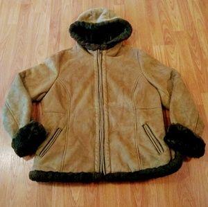 Jackets & Blazers - Chic Gorgeous Craft& Barrow Tan Jacket Coat